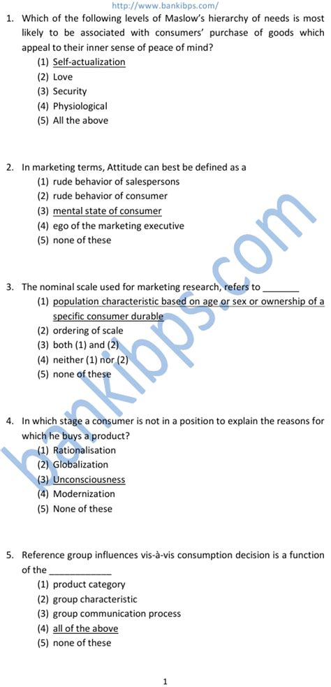 Aptitude Test For Mba Marketing by Free Aptitude Test Questions And Answers For