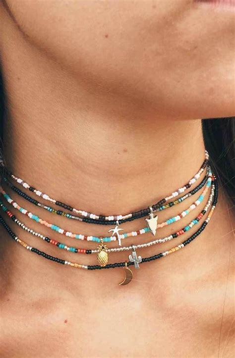 Bead Choker 17 best ideas about on casual