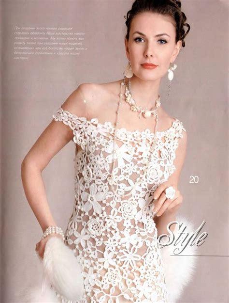 crochet vestidos quot crochet quot vestido eleganta en crochet irlandes