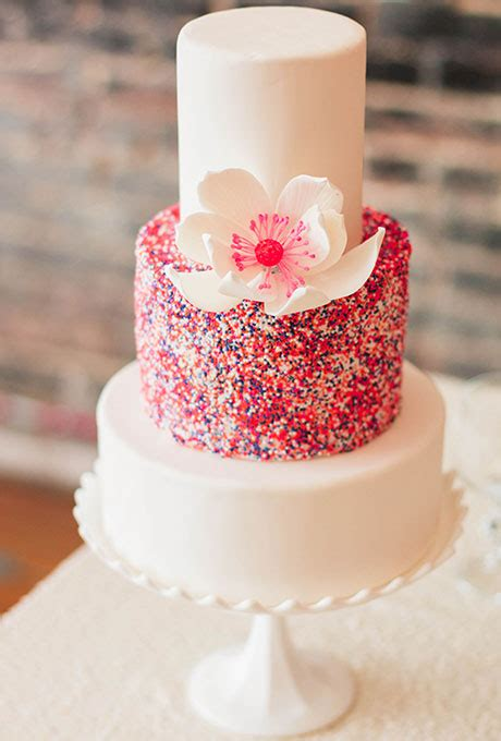 Pink Wedding Cake by Pink Wedding Cakes A Wedding Cake