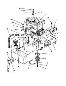 engine fuel tank diagram parts list for model 381451hbve snapper parts mower tractor
