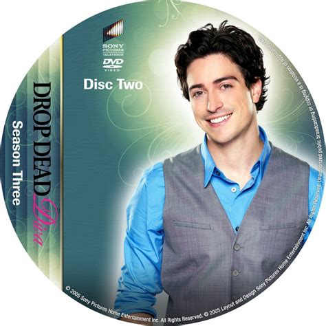 drop dead season drop dead season 3 disc 2 custom dvd labels drop
