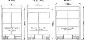 standard double bed size folding murphy wallbeds