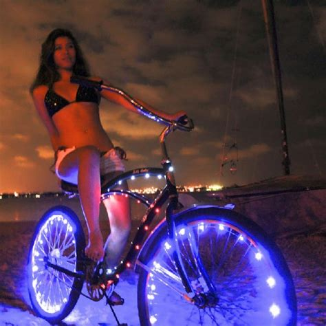 Bicycle Wheel Led Light Yellow blue led bicycle wheel lights
