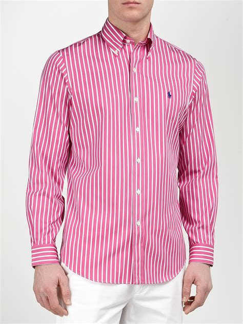 Tshirt Stripe Pink striped pink shirt custom shirt