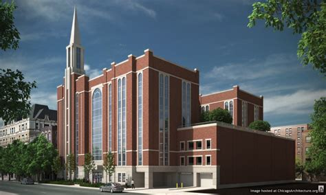 chicago church house here s what the new near north mormon chapel will look