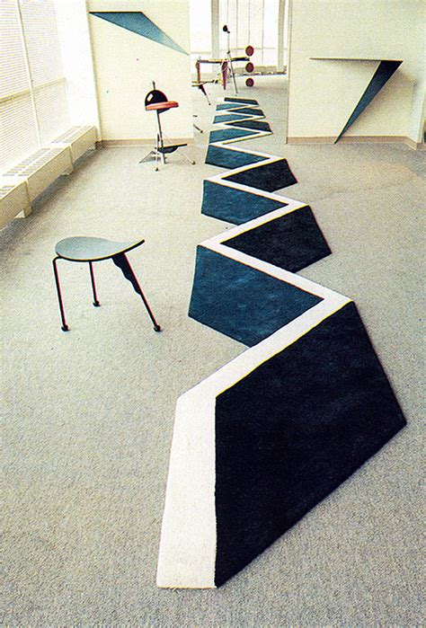 Optical Illusion Rugs For Sale by Optical Illusion Rug Or Floor Stencil Improvised