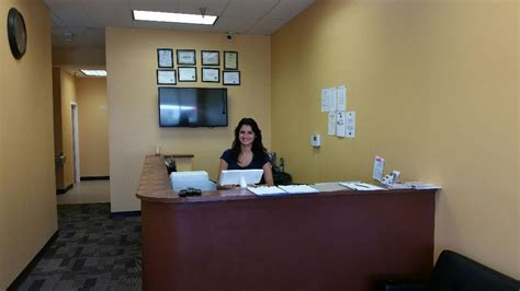 Driving Office by Front Office And Reception Area Yelp