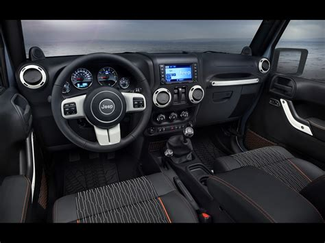 2012 Jeep Wrangler Arctic Dashboard 1920x1440 Wallpaper