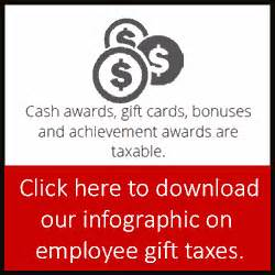 Gift Cards Given To Employees Taxable - gifts to employees taxable income or nontaxable gift