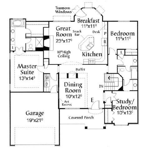 house design blueprint house 20591 blueprint details floor plans