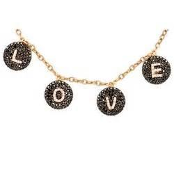 rhobh necklace bettina javaheri dangling l o v e necklace pradux