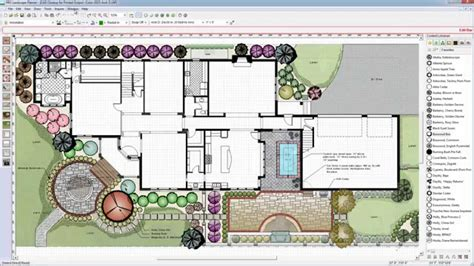 landscape layout cad easy to use cad for landscape design with pro modern garden