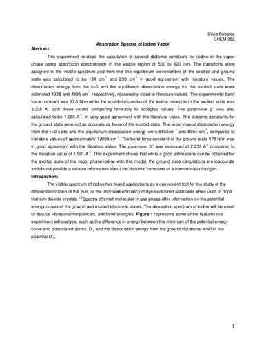 exle of discussion section in lab report how to write a chemistry lab report discussion stop
