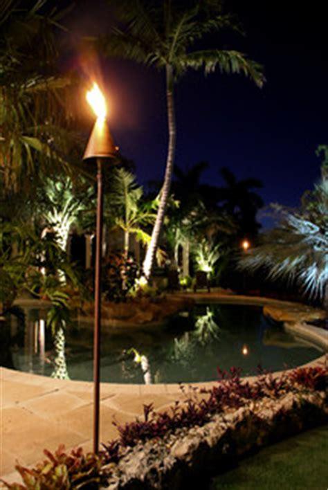 ledfuel tiki torch tropical outdoor lighting
