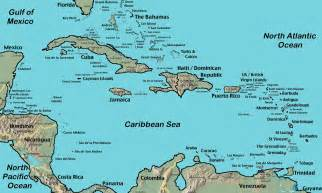 map of south america and the caribbean 50 years around the world september 2011