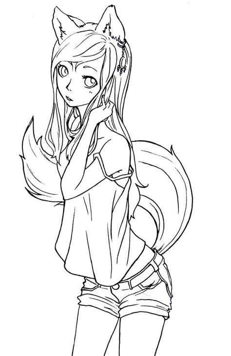 chibi fox coloring pages 1000 images about coloring pages on pinterest halloween