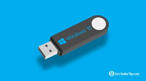 install windows 10 to usb flash drive how to create a bootable windows 10 usb flash drive