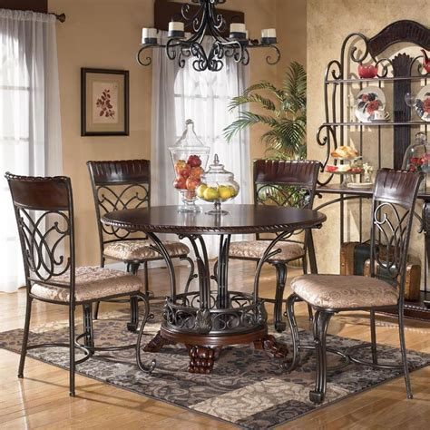 dining room tables atlanta 97 dining room furniture ashley furniture alyssa 5 piece round dining table side