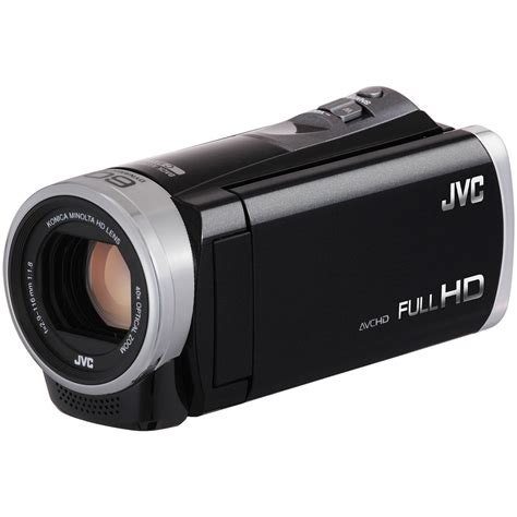 jvc everio jvc gz e300 hd everio camcorder black gz e300b b h