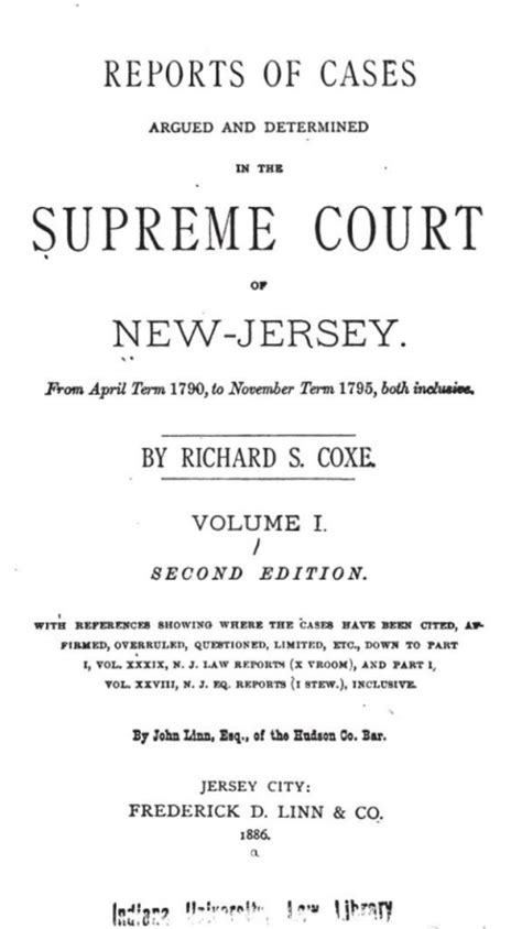 New Jersey Superior Court Records William Hutchinson Marriage Family