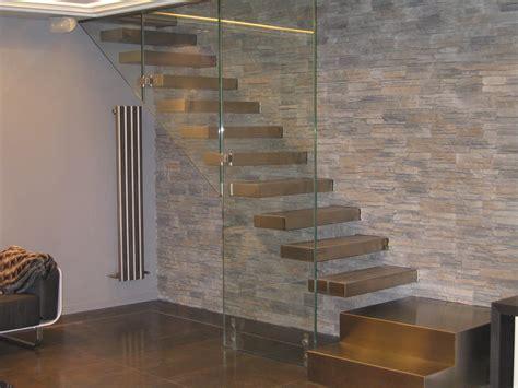 corrimano per scale interne a muro corrimano per scale