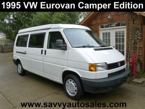how cars work for dummies 1995 volkswagen eurovan on board diagnostic system purchase used 1995 volkswagen eurovan cer in portland oregon united states