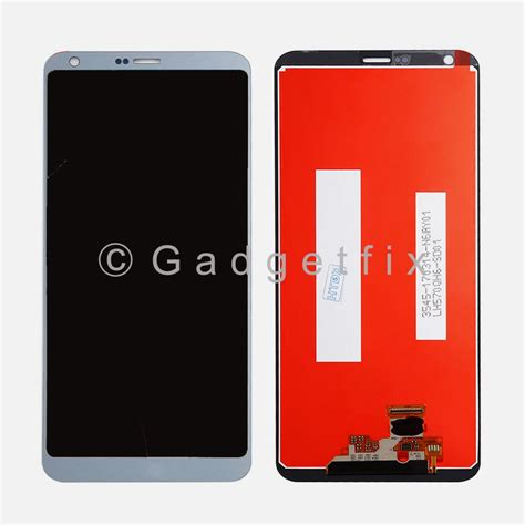 lcd screen touch digitizer assembly  silver lg     ls