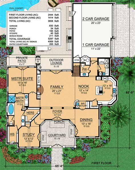 tuscan style floor plans tuscan style house plans passionate architecture