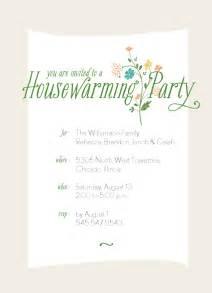house warming invitation template