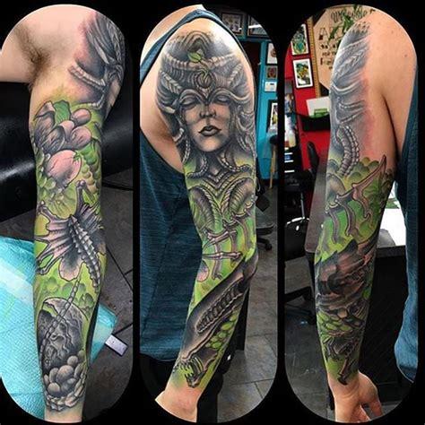 tattoo black and green 26 sleeve tattoo designs for men design trends premium