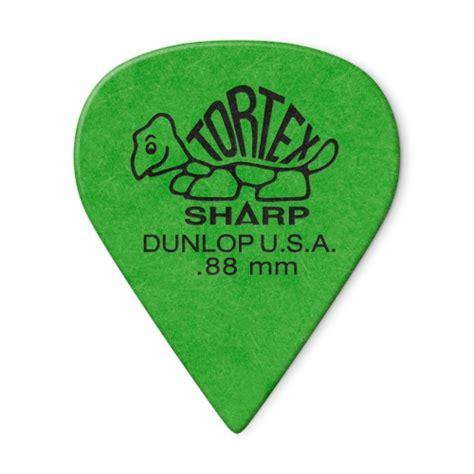 dunlop 412p tortex sharp guitar 0 88mm