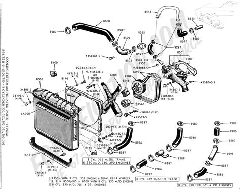 6 Best Images Of 1999 Ford Explorer Cooling System Diagram
