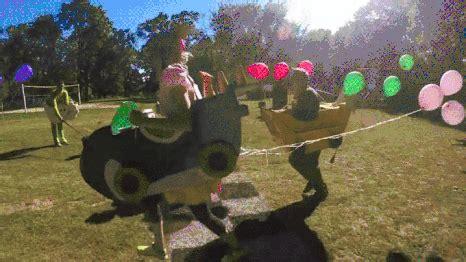 backyard gifts backyard mario kart gif find on giphy