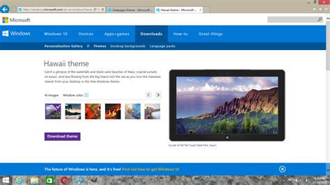 themes in microsoft finding new themes for your windows 7 8 or 10 computer