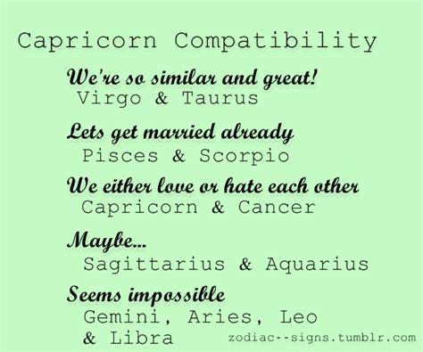 capricorn compatibility capricorn pinterest