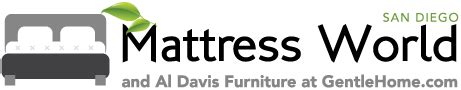 Organic Mattress San Diego by Mattress World And Al Davis Furniture