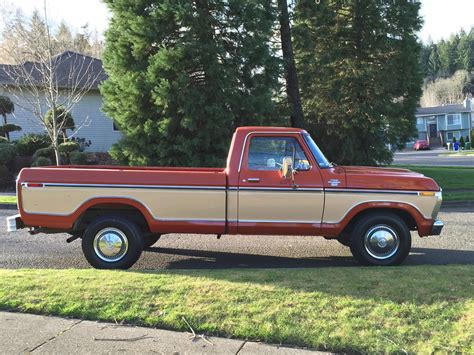 f250 truck bed for sale 1977 ford f 250 pickup reg cab 2dr long bed only 32k
