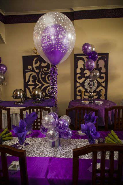 21st Birthday Decoration Ideas by 21st Birthday Theme Ideas N Stuff