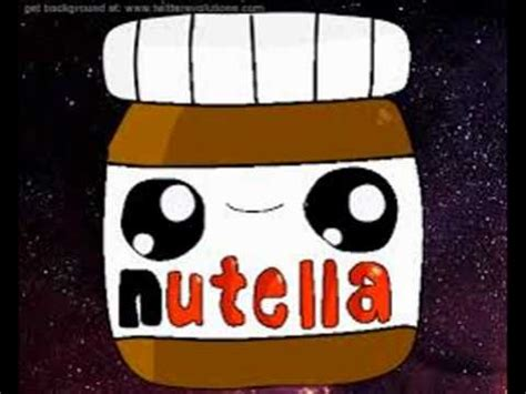 Imagenes Kawaii De Nutella | nutella kawaii youtube