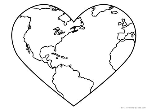 Pin Planet Earth Coloring Pages On Pinterest Earth Coloring Pages