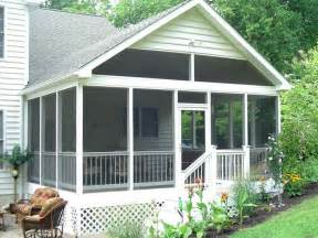 Porch Plans Screening In A Porch Free Screened Porch Plans Steps