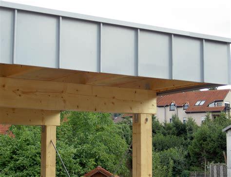 bau eines carports projekte dachbegr 252 nung schminke dach fassade
