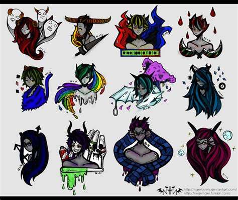 homestuck tattoos by randomchick2092 on deviantart