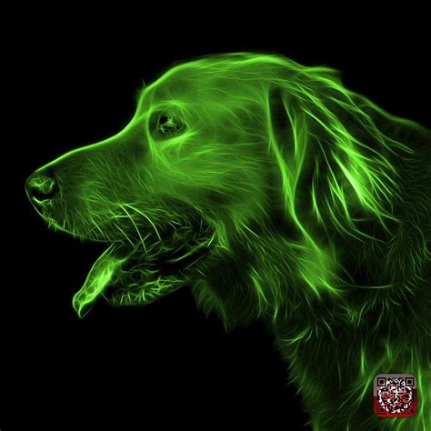 green golden retriever green golden retriever 4047 f digital by ahn