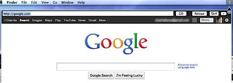 Search The Web Right From The Address Bar Seach The Web Quickly From Your Mac Menu Bar With Web Tab