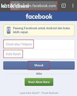 fb versi dasar facebook seluler masuk atau download fb seluler cara
