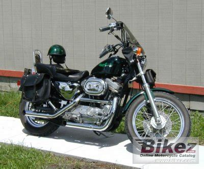 1996 harley davidson sportster 883 specifications and pictures