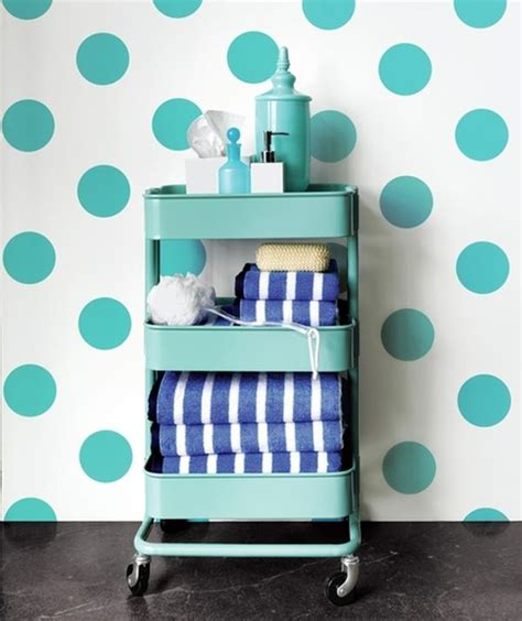 bathroom storage cart 36 creative ways to use the r 197 skog ikea kitchen cart