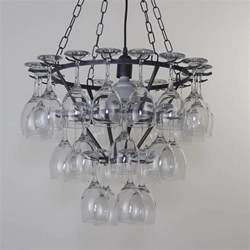 wine glass chandelier uk wine glass chandelier 3 tier black from litecraft
